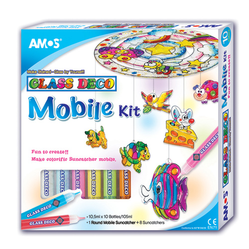Glass Deco - 3D Mobile