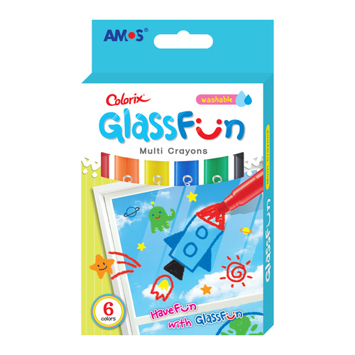 Glass Fun Colorix 6 Pack
