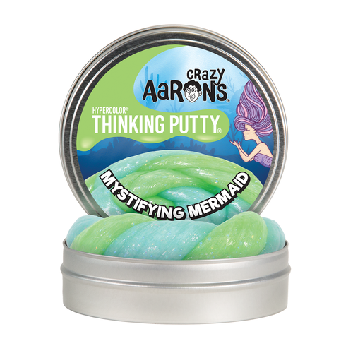 "Mystifying Mermaid | Hypercolour Thinking Putty 4"" Tin"