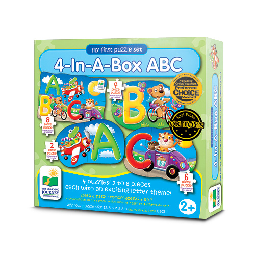 4 In A box Puzzles - ABC