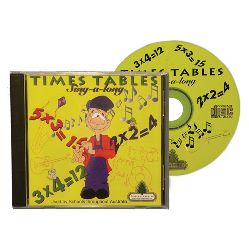 Times Table Compact Disc