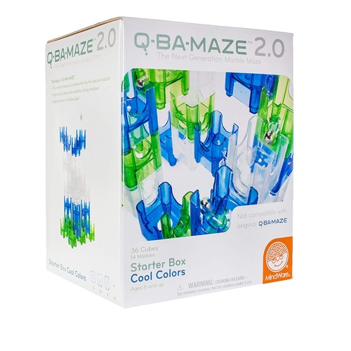 Q-BA-MAZE 2.0: Starter Box Cool colours