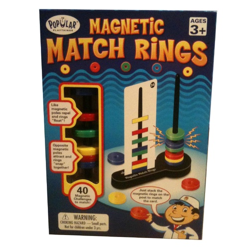 Magnetic Match Rings