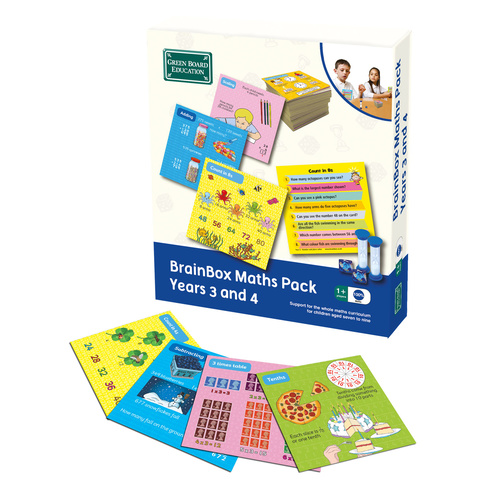 Brainbox Maths Pack - 3 & 4