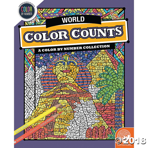 Colour Counts: Travel The World