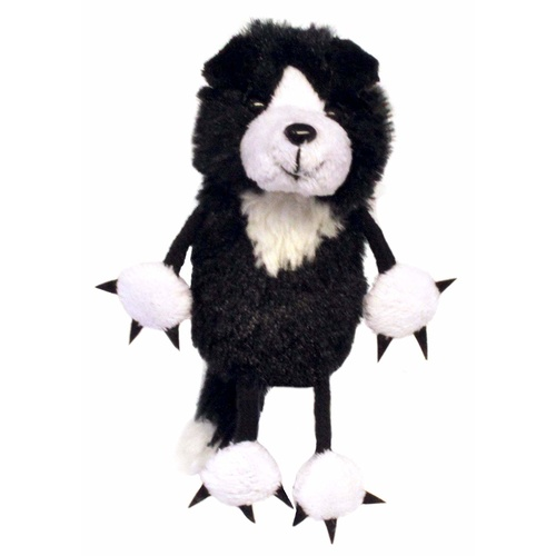 Border Collie - Finger Puppet