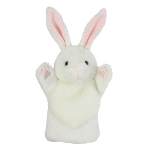 Rabbit White - Hand Puppet