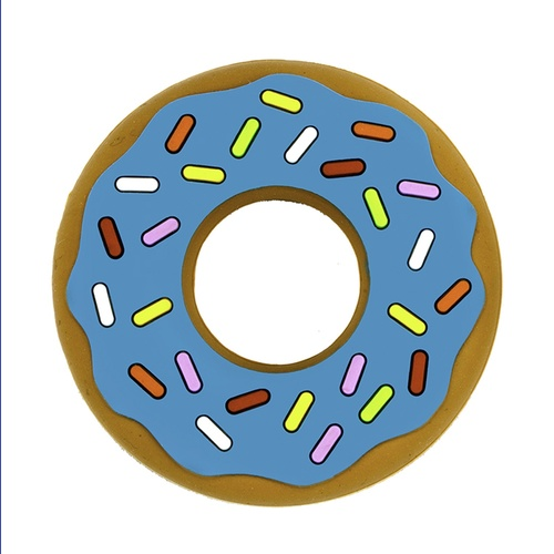 Blue Donut - Silicone Teether