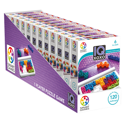 IQ XOXO - DISPLAY 12 pcs